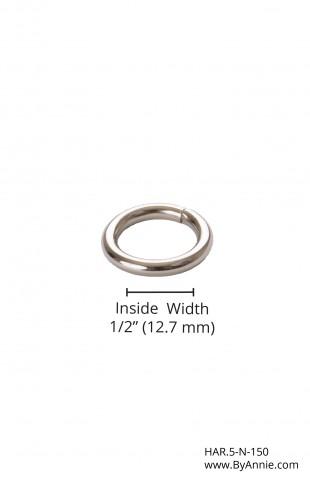"""1/2"""" nickel - O-ring"""