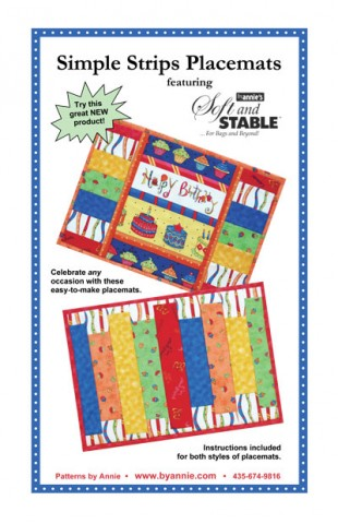 Simple Strips Placemats