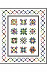 Sparkling Gems Block of the Month Pattern Set