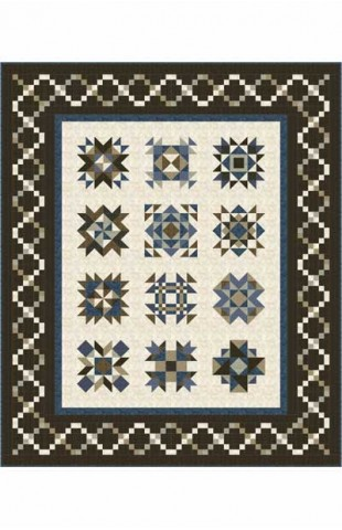 Vintage Remembrance Block of the Month Pattern Set