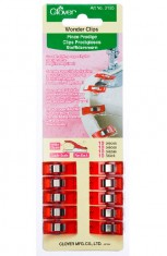 Wonder Clips - 10 pack - Red