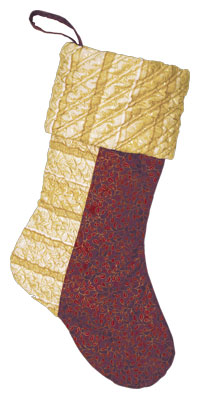 The Side Strip stocking has texture on the cuff and side strip.