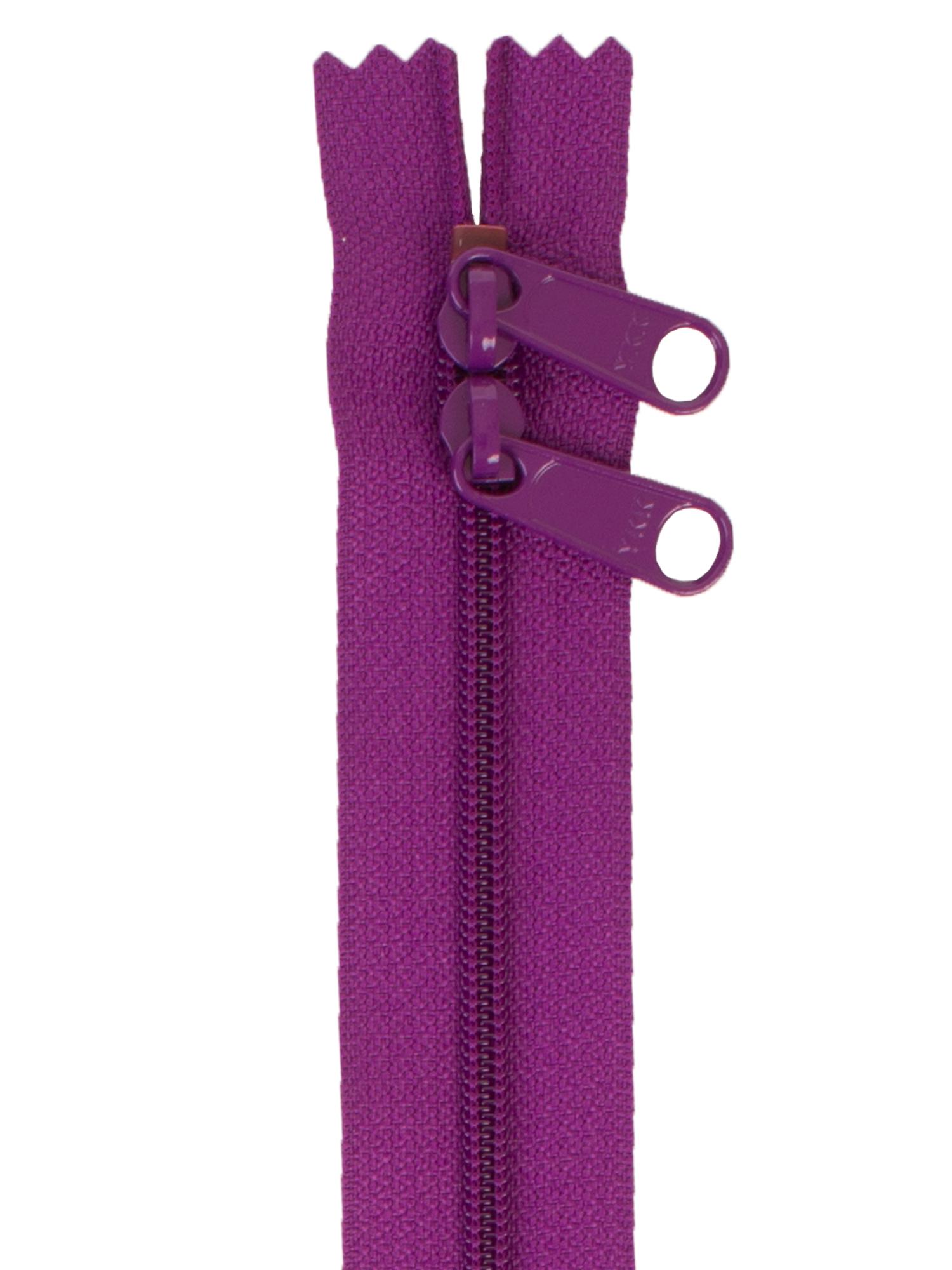 ByAnnie Black 30 Double Slide Zipper