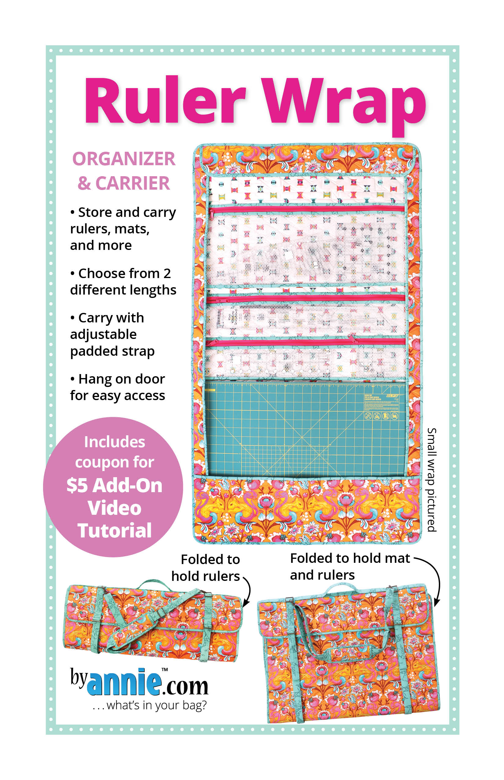 How to make an organizer for your loved one (photo and video instruction)