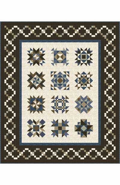 Vintage Remembrance Block Of The Month Pattern Set Simple Block Of The Month Quilt Patterns